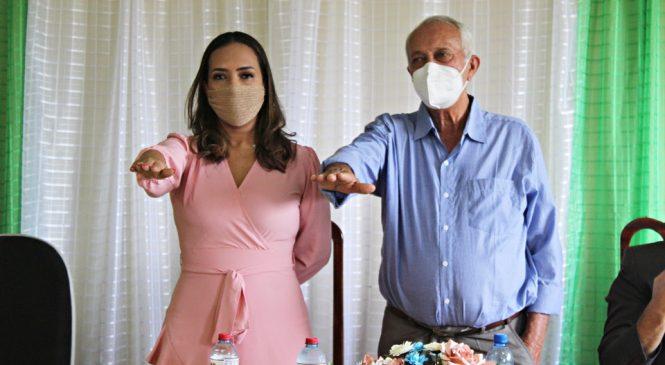 Prefeita Ana Lina e vereadores tomam posse em Murici dos Portelas