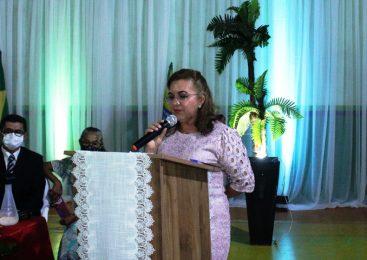 Prefeita Vilma Lima é emposssada para seu segundo mandato em São João do Arraial