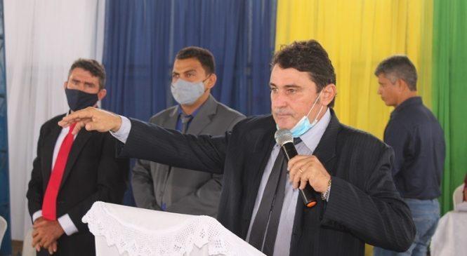 Marcos Henrique toma posse como prefeito reeleito de Morro do Chapéu do Piauí