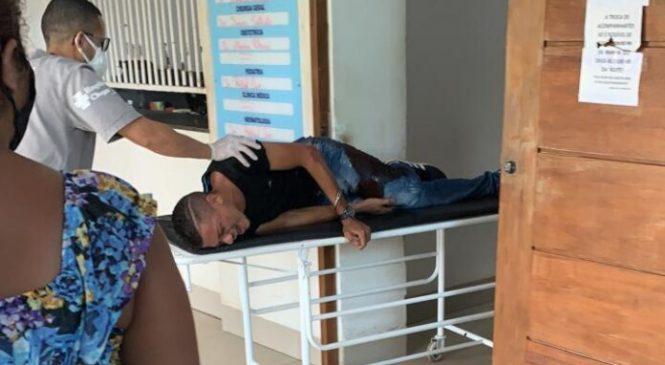 Homem é encontrado baleado na perna entre Barras e Boa Hora
