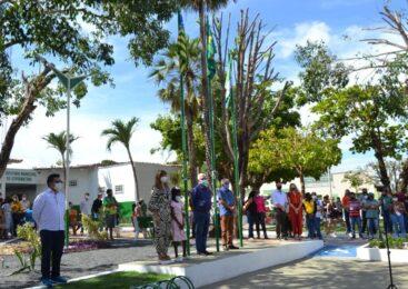 Prefeita Ivanária Sampaio entrega sede da prefeitura de Esperantina totalmente reformada
