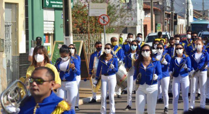 Veja como foi o desfile de 7 de setembro em Esperantina