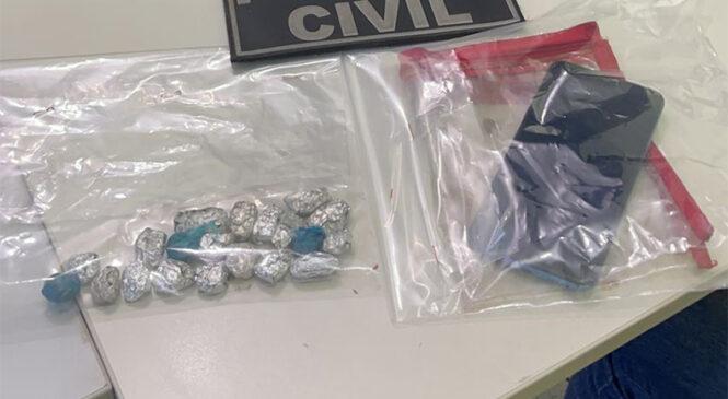 Funcionário de prefeitura é preso em UBS suspeito de tráfico de drogas