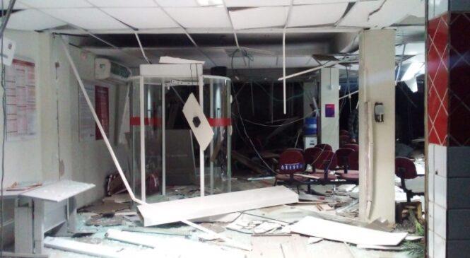 Bandidos explodem e roubam agência bancária no Norte do Piauí