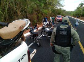 """Polícia Militar apreende motos em evento """"do grau"""" na região de Boqueirão do Piauí"""
