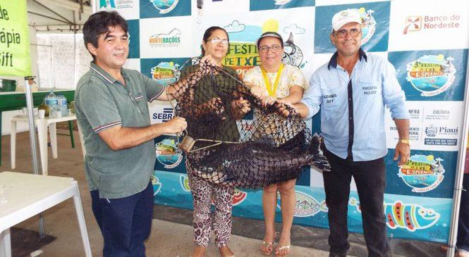 """Troféu """"Balança de Ouro"""" premia piscicultores no Festival do Peixe"""