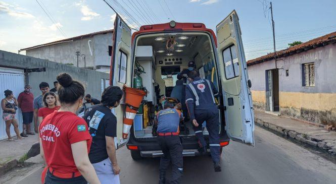 Jovem fica gravemente ferido em acidente de moto na PI 110 em Barras