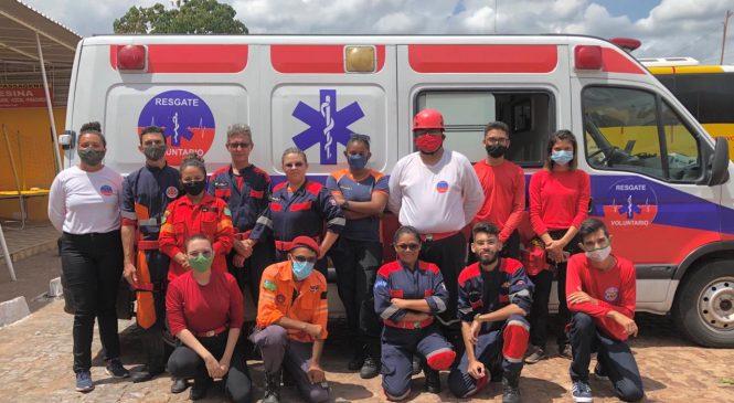 Grupo de Apoio Voluntários de Barras recebe viatura para ajudar nos trabalhos de resgate