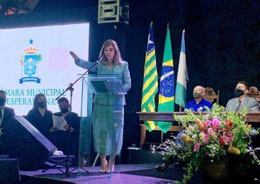 Confira a cobertura da posse da Prefeita Ivanária Sampaio e do vice Sampaio Júnior