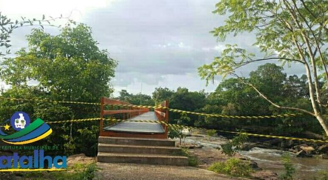 Pontos turísticos de Batalha foram fechados pela prefeitura