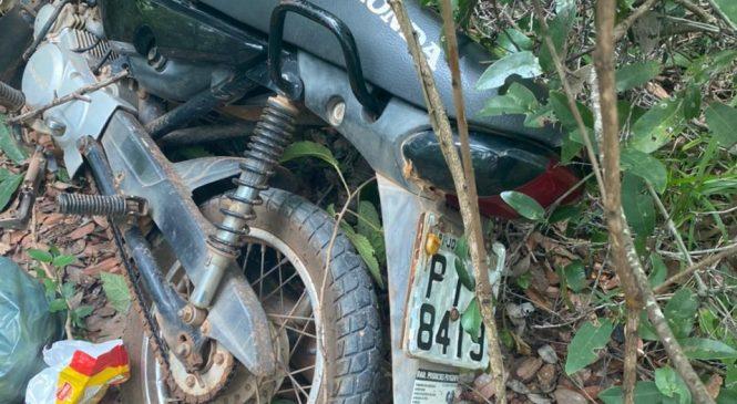 Policia de Joaquim Pires recupera 04 motos durante perseguição a bandidos
