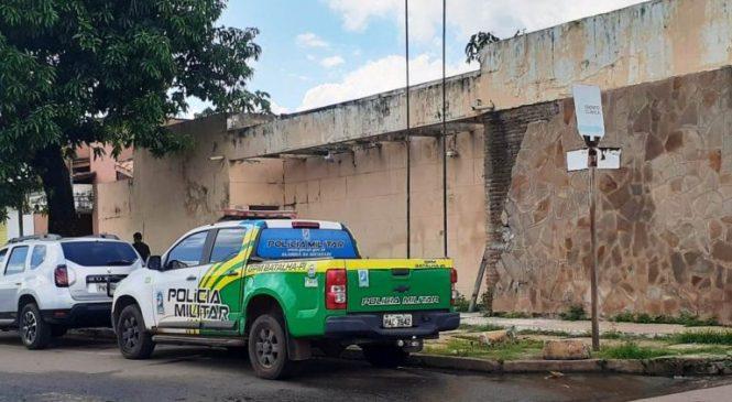 Uma mulher sofreu vários golpes de faca no  bairro Pedreira em Esperantina