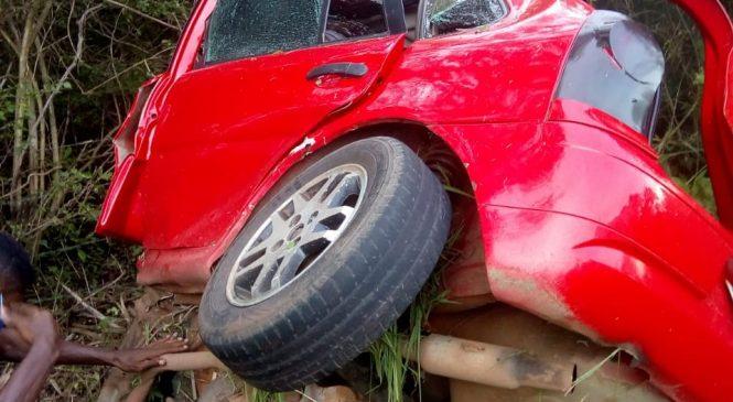 Motorista morre após capotar carro e ficar preso nas ferragens na BR-222 em Batalha