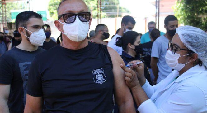 Governo do estado libera 489 doses vacinas para a Policia Penal do Piaui