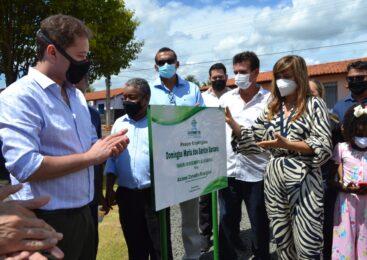 Primeira praça ecológica de Esperantina homenageia a ex-vereadora Domingas Santana