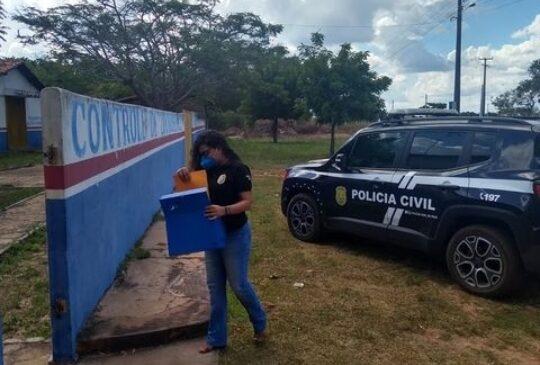 Polícia Civil cumpre mandado de busca e apreensão no Centro de Zoonoses de Barras