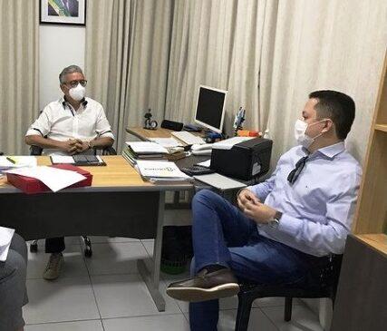 Diretor do HEMOPI visita o Hospital de Esperantina