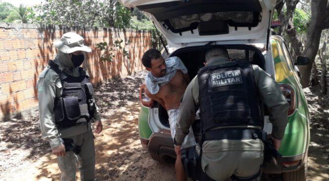 Policia cumpre mandado de prisão preventiva em Joaquim Pires