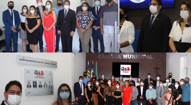 Dia do advogado foi comemorado com  uma vasta programação em Barras