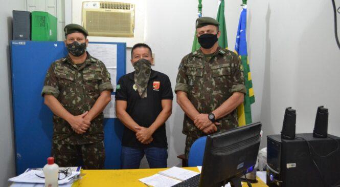 Exército realiza inspeção de rotina no setor da junta militar