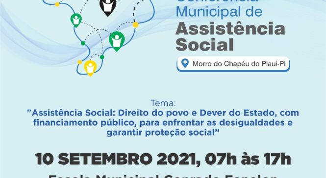 Prefeitura de Morro do Chapéu realizará 10ª Conferência de Assistência Social