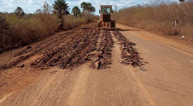 Governo realiza obras em rodovias importantes para o turismo piauiense