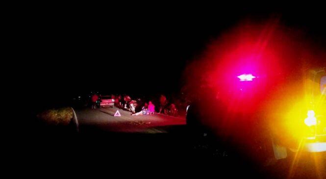 Acidente entre carro e moto deixa uma pessoa gravemente na PI 110