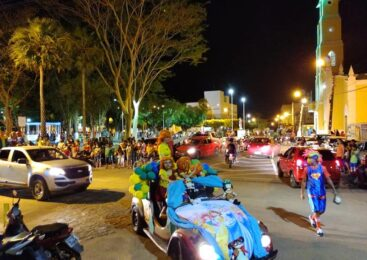 """Prefeitura de Esperantina realizou festa """"Mundo Encantado"""" em comemoração ao dia da criança"""