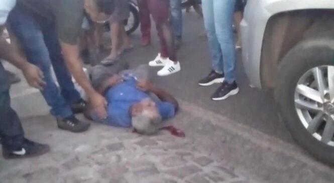 Idoso é atropelado durante perseguição policial em Barras
