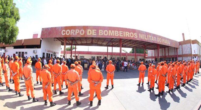 Esperantina e mais 04 cidades vão receber novos batalhões do Corpo de Bombeiros
