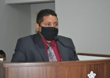 Hélio Santana toma posse na câmara municipal de São João do Arraial